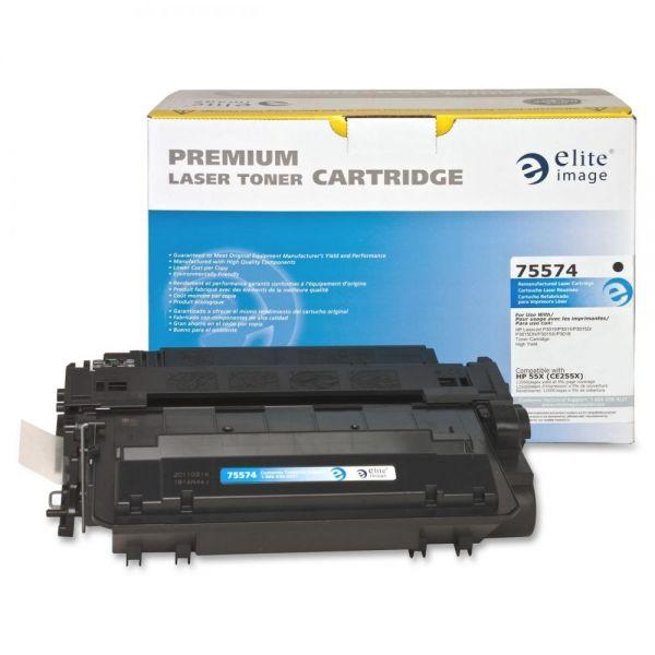 Elite Image Remanufactured HP CE255X Toner Cartridge