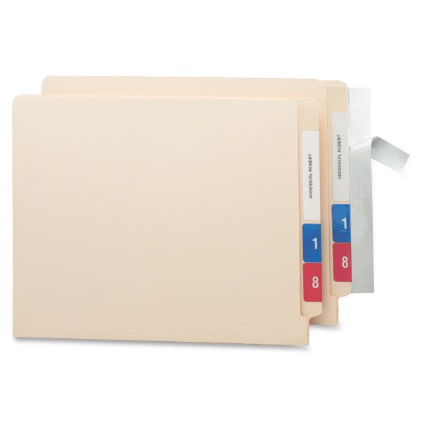 Smead Seal & View End Tab File Folder Label Protector