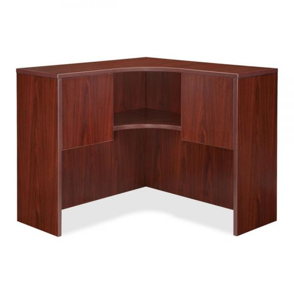 Lorell Essentials Corner Hutch