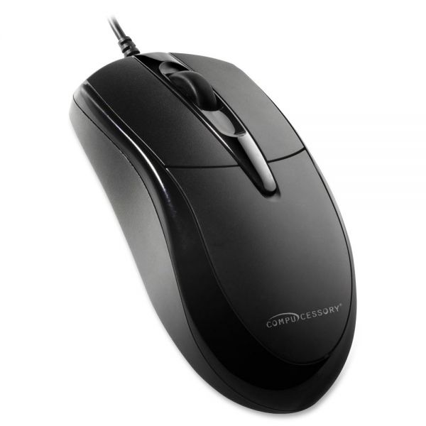 Compucessory Three-button Corded Mouse