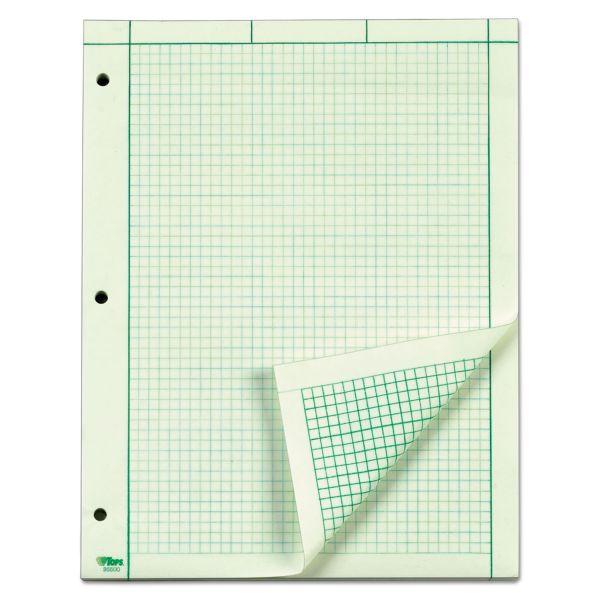 TOPS Green Tint Engineering Computation Pad