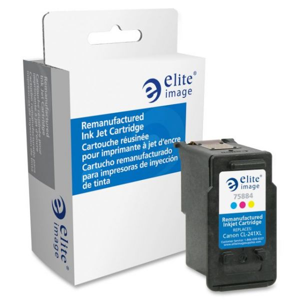 Elite Image Remanufactured Canon CL-241XL Ink Cartridge