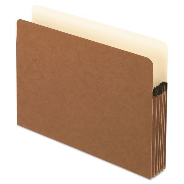 Pendaflex Smart Shield File Pocket, Straight Cut, 1 Pocket, Letter, Red Fiber