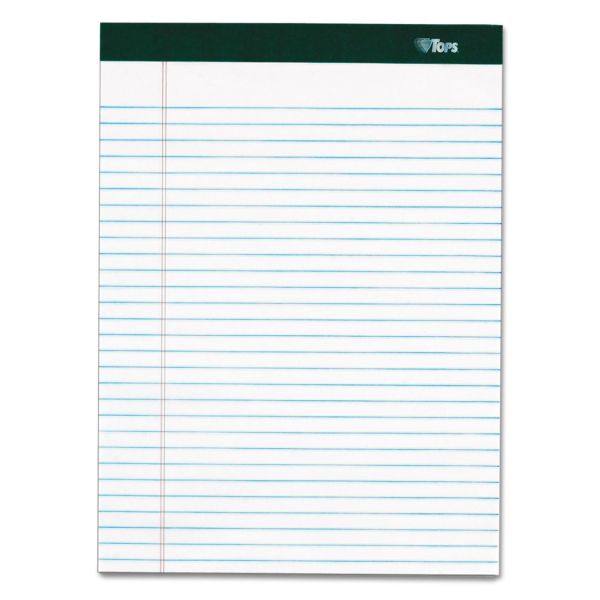 TOPS Double Docket Letter-Size White Legal Pads