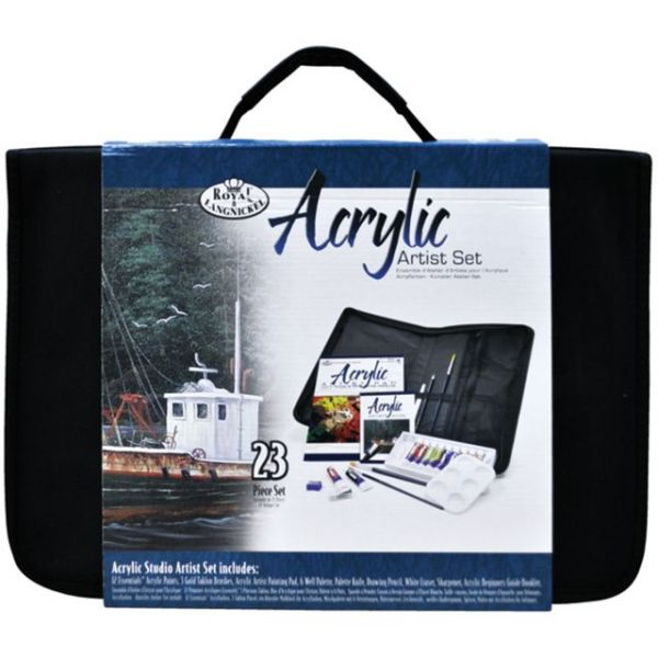Acrylic Keep n' Carry Large Art Set