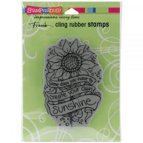 "Stampendous Fran's Cling Stamps 6.5""X4.5"""