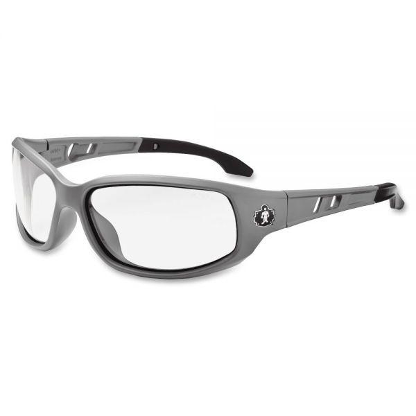 Ergodyne Valkyrie Clr Lens/Gray Frm Safety Glasses