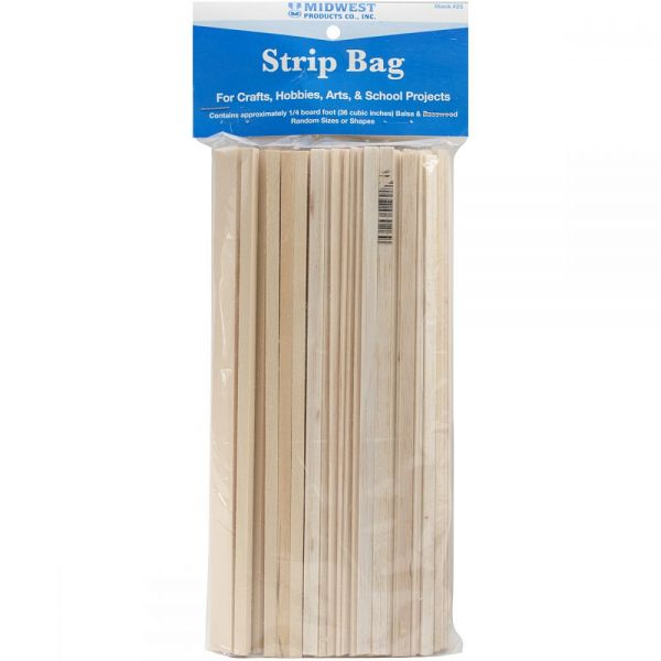 Wood Strip Economy Bag