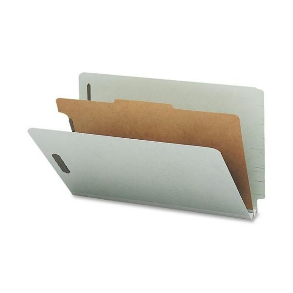 Nature Saver End Tab Gray Classification Folders