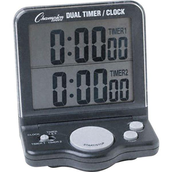 Champion Sports Dual Timer/Clock