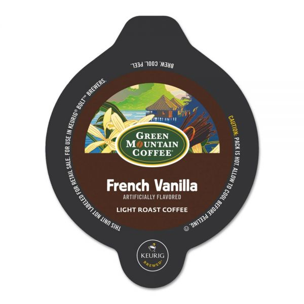 Green Mountain Coffee Roasters French Vanilla Bolt Pods