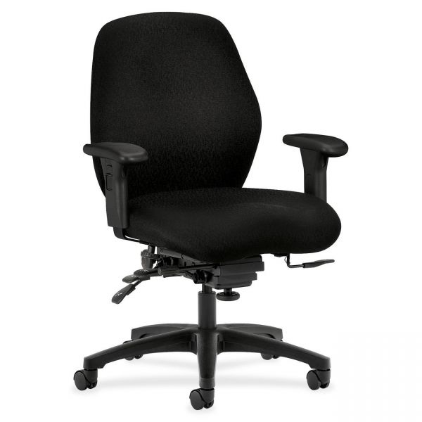HON 7800 Series H7828 High-Performance Mid-Back Office Chair