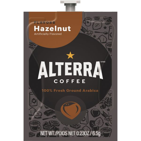 Alterra Roasters Hazelnut Coffee Freshpacks