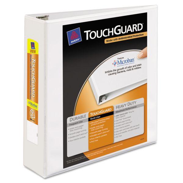 "Avery TouchGuard 2"" 3-Ring View Binder"