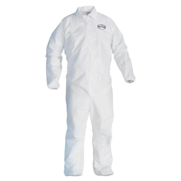 KleenGuard* A20 Breathable Particle Protection Coveralls, 3XL, Blue, 25/Carton