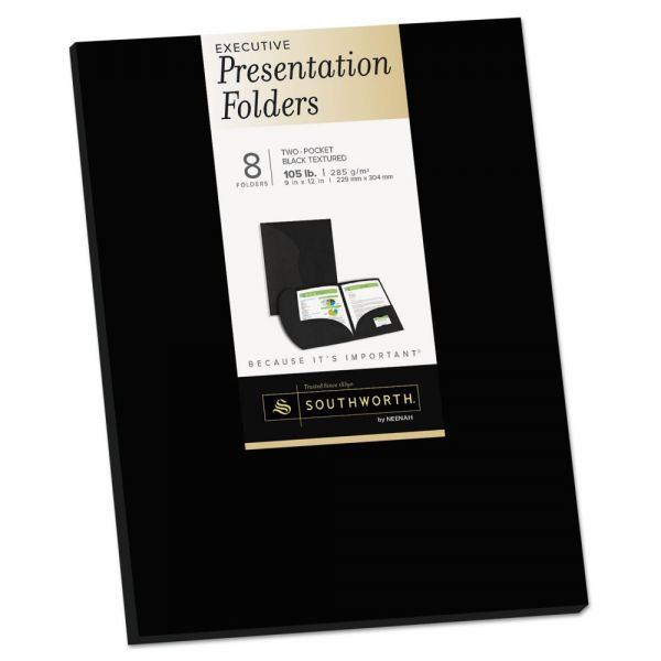 Southworth Two-Pocket Presentation Folders