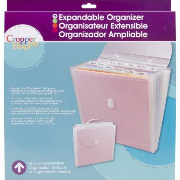 Cropper Hopper Expandable Paper Organizer