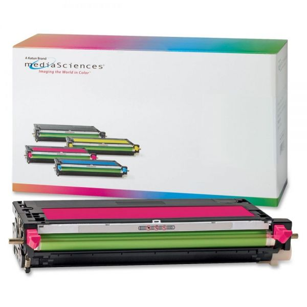 Media Sciences Remanufactured Xerox 106R01393 Magenta Toner Cartridge