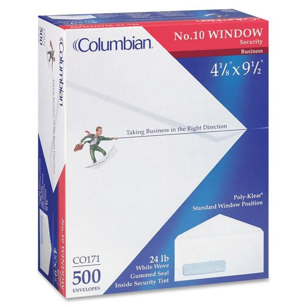 Columbian Standard Security Single Window Envelopes