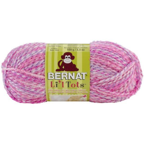 Bernat Li'l Tots Yarn - All Pink