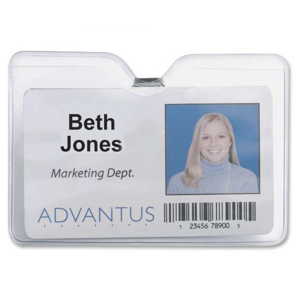 Advantus ID Horizontal Badge Holders