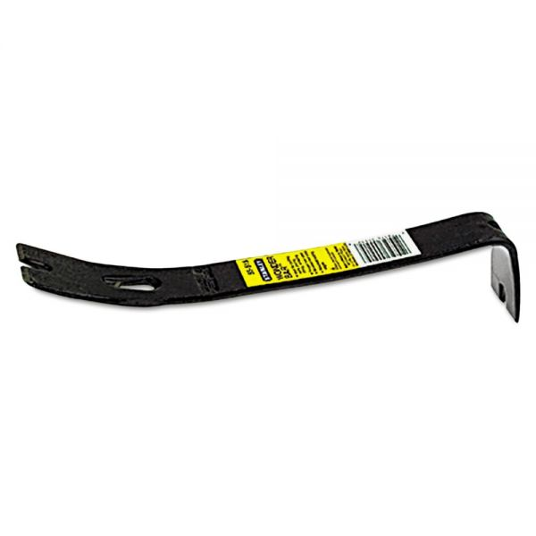 "Stanley Tools Pry Bar, High Carbon Steel, 12.37"" Length"