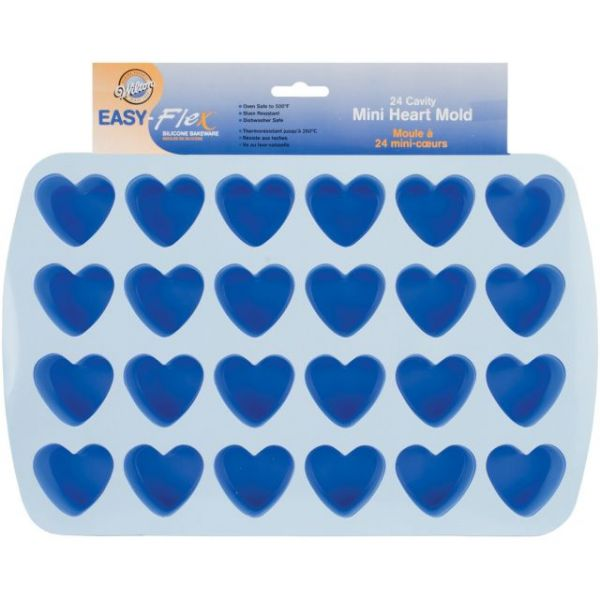 Wilton Easy-Flex Silicone Bite Size Mold