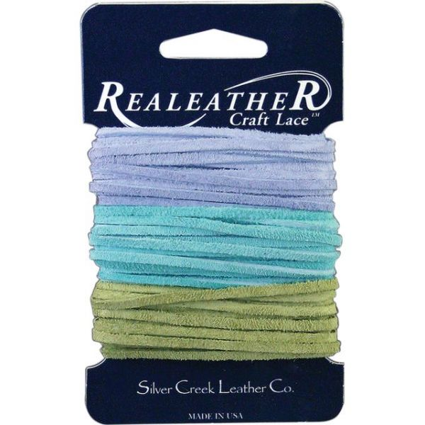 """Sof-Suede Lace .094""""X8yd Carded"""