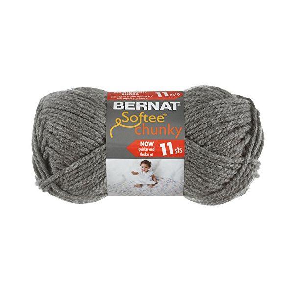 Bernat Softee Chunky Yarn - True Gray