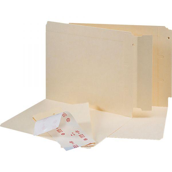 Smead End Tab Converters for Folders, 3 1/4 x 9 1/4, Manila, 500/Box