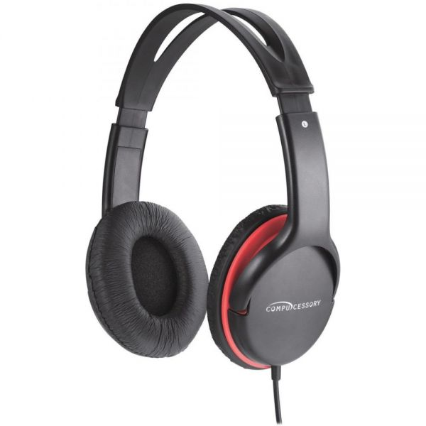 Compucessory Stereo Headset w/ Volume Control