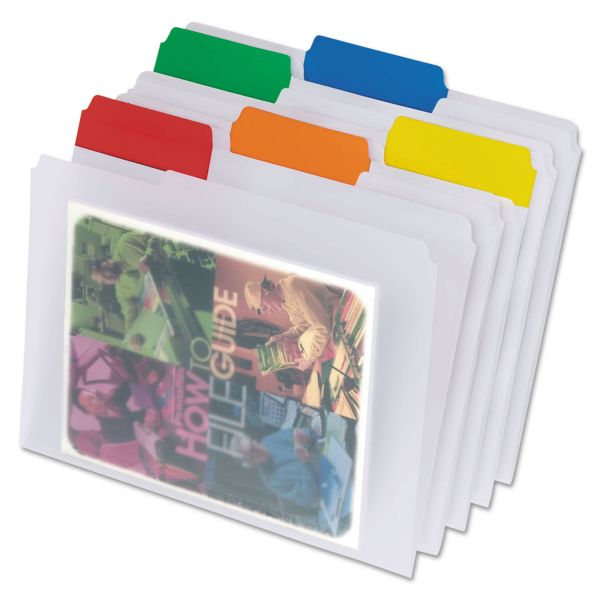 Pendaflex EasyView Colored File Folders