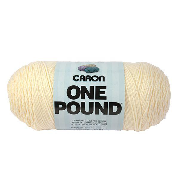Caron One Pound Yarn - Cream