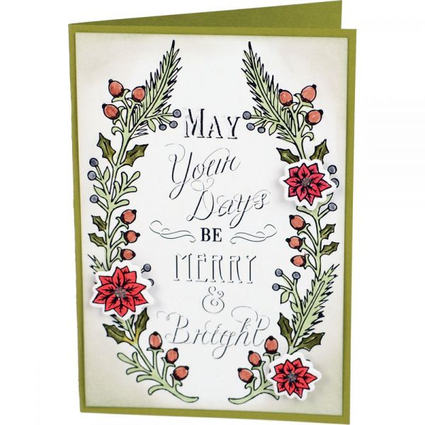 Sizzix Clear Stamps By Jen Long