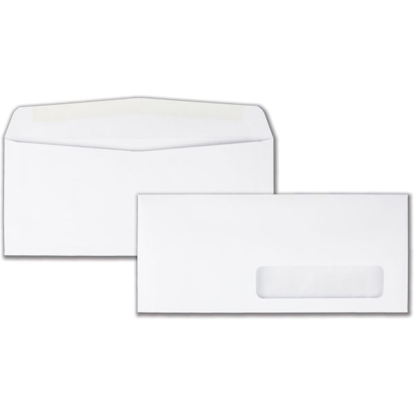 Quality Park Right Window Business Envelopes