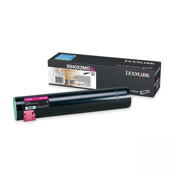 Lexmark X945X2MG Magenta High Yield Toner Cartridge