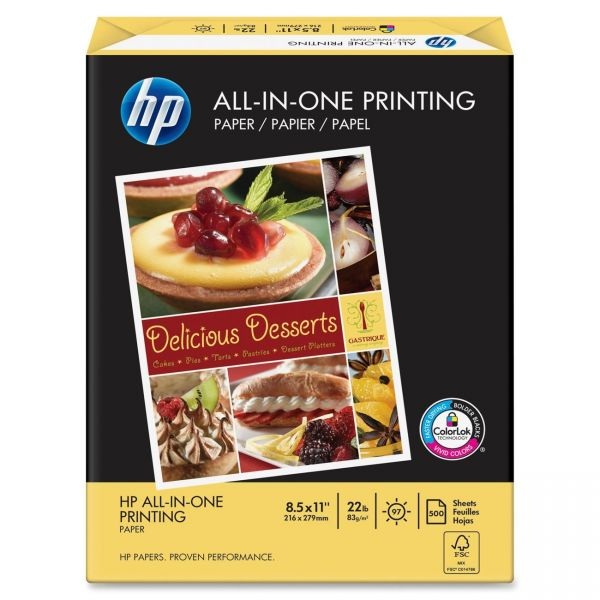 HP All-In-One Printing White Copy Paper