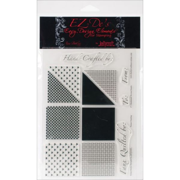 "EZ-De's Clear Stamps 6""X8"" Sheet"