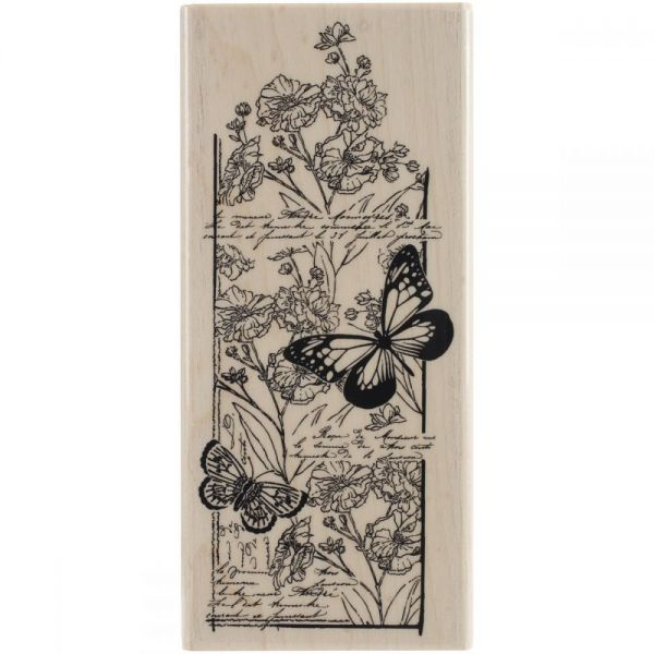 "Penny Black Mounted Rubber Stamp 2.5""X5.5"""