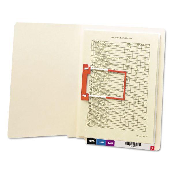 Smead U-Clip End Tab File Folders