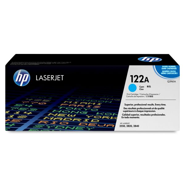 HP 122A Cyan Toner Cartridge (Q3961A)