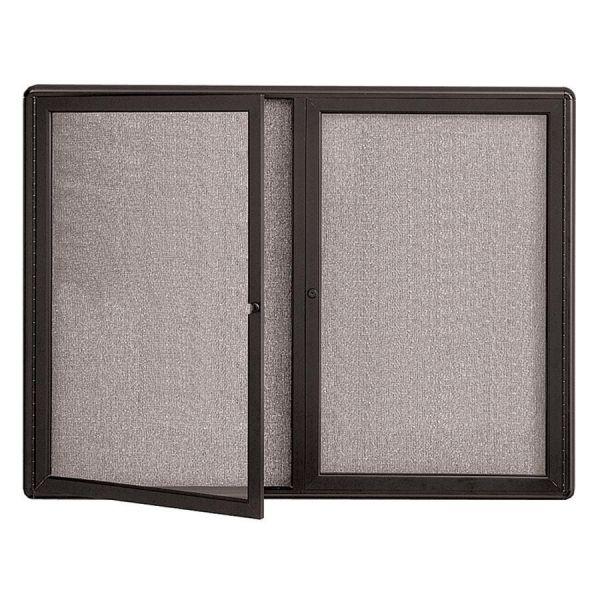 Quartet Radius Frame Fabric Board