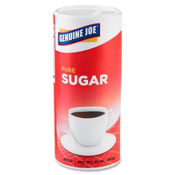 Genuine Joe Pure Sugar Cane Canister