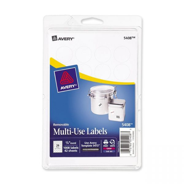 Avery Print Or Write Multi-Use Labels