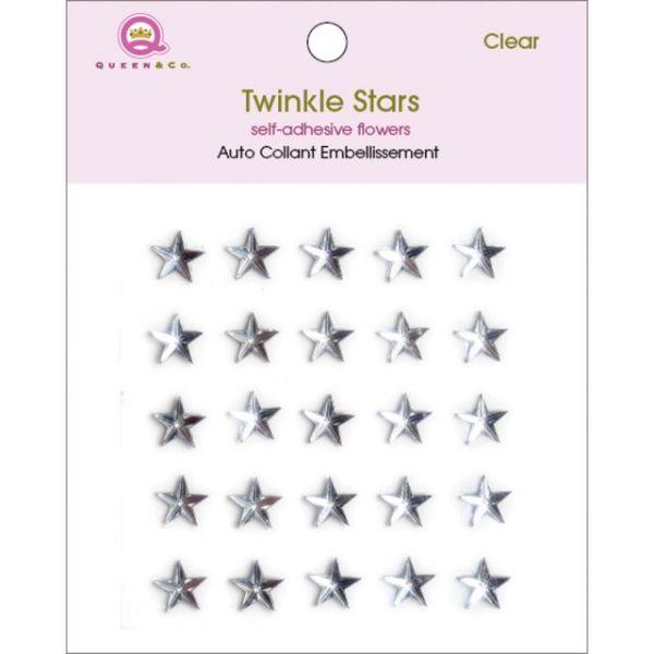 Twinkle Gems Self-Adhesive Stones 8mm 25/Pkg