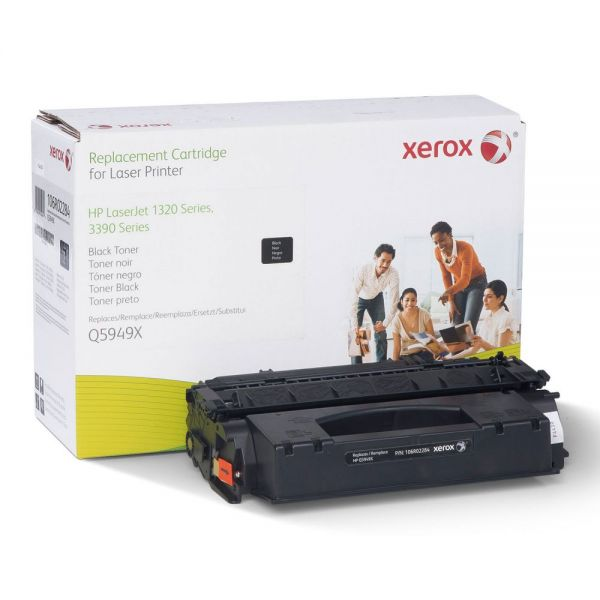 Xerox 106R02284 Replacement Extended-Yield Toner for Q5949X (49X), Black