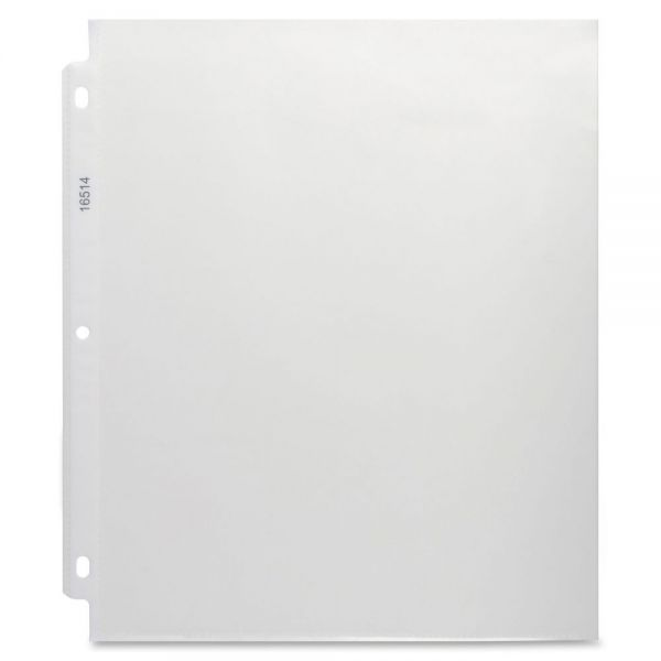 Business Source Top Loading Non-Glare Sheet Protectors