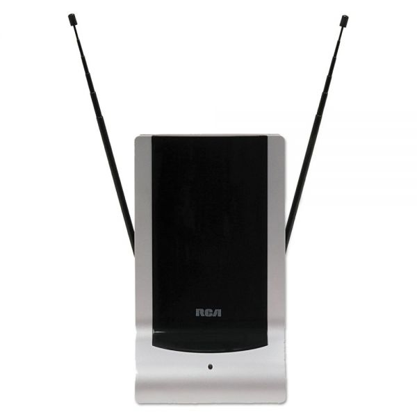 RCA Indoor Digital TV Antenna, Amplified, 40-Mile Range