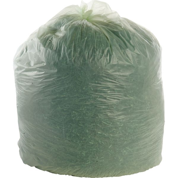 Stout Ecosafe Compostable 64 Gallon Trash Bags