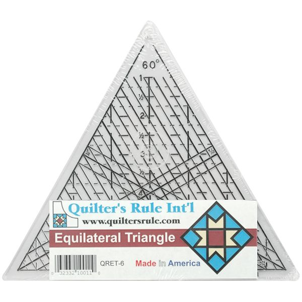 Quilter's Equilateral Triangle Ruler